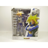 SHF Trunks Super Saiyan Muscular Rage Mode Cell Long Hair Figuarts MIB