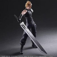 Play Arts Kai Cloud Strife Remake Final fantasy VII 7 NEW MIB FF