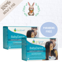 IsoLove Iso Love Baby Dance Fertility Lubricant 6 Tubes PARABENS FREE