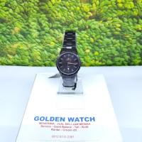Jam tangan wanita Hegner HW 5001 L full hitam