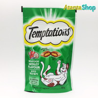Temptations - 85g Seafood Medley Flavour treats for cats snack kucing