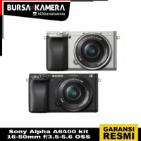 Sony Alpha A6400 kit 16-50mm f/3.5-5.6 OSS
