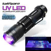 Senter LED UV 395nm Ultraviolet Q5 LED
