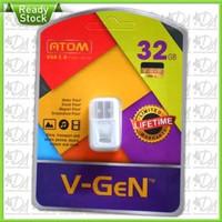 Flashdisk Vgen 32GB Atom USB 2.0 Flash Drive Original V-Gen