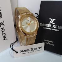 JAM TANGAN WANITA DANIEL KLEIN DK11948-4 GOLD ORIGINAL MURAH