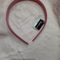 dijual bando rambut merk madonna model cantik warna pink harga promo