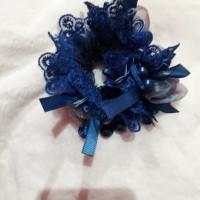 dijual ikat rambut merk madonna model cantik warna biru harga promo