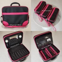 Beauty Case Tempat Makeup Kosmetik Rias Kuas Brush Bag