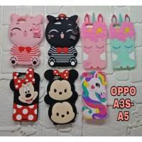 OPPO A3S - A5 CASE 3D BONEKA