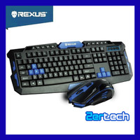 Rexus Warfaction VR2 Wireless Combo RX-V2 / Keyboard Gaming / Mouse