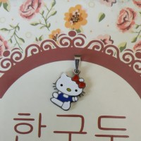 Liontin Anak Stainless Steel Polished Hello Kitty