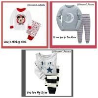 Baju Tidur Anak pakaian anak Unisex GAP size 4T