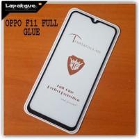 Tampered Glass Oppo F11 Full Glue Sren Protection