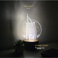 Lampu Akrilik - Dubai Dreamlight TS