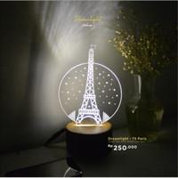 Lampu Akrilik - Paris Dreamlight TS