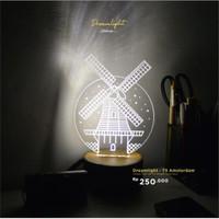 Lampu Akrilik - Amsterdam Dreamlight TS