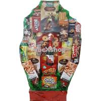 Parcel Snack Parsel Lebaran Hampers IDUL FITRI, Natal, Tahun Baru - XL