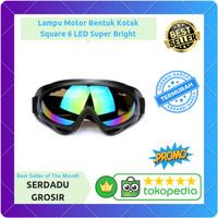 TERMURAH! Kacamata Goggles Ski UV400 - X400 -