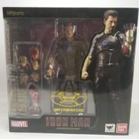 SHF Tony Stark Mark XLII 42 Iron Man Ironman Marvel Avengers Figure
