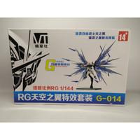 Wing Effect Strike Freedom GUNDAM RG 1/144 Seed Stand Base Burst