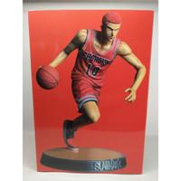 PVC Figure Hanamichi Sakuragi SHOHOKU SLAM DUNK Basket Red Jersey MIB