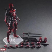 Play Arts Kai Deadpool jade Wilson Marvel Universe Square Enix NEW MIB