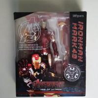 SHF Ironman Iron Man Mark 43 Marvel Avenger Bonus SOFA Figuarts MK43
