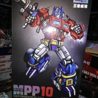 Optimus Prime WEIJIANG MPP10 Cartoon Classic Transformers Truck Ver