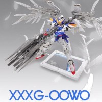 Wing Zero Custom GUNDAM 1/100 MG Seraphim Feather Effect SUPERNOVA
