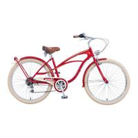 Asahi Briller Cruiser Bike [26 Inch] - RED
