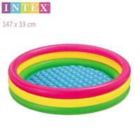 INTEX Sunset Glow 57422 / Kolam Renang Anak Pelangi Besar 147x33cm