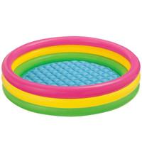 Sunset Glow Baby Pool 3 Ring INTEX 58924 / Kolam Anak Pelangi
