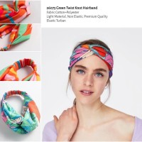 26075 Green Twist Knot Hairband