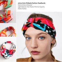 26102 Color Polkadot Fashion Headbands