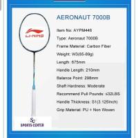 PROMO !! Raket Badminton Lining AERONAUT 7000B / 7000 Boost