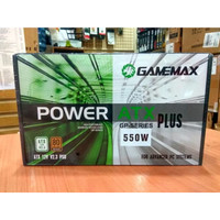 GAMEMAX PSU 550Watt GP-550 - 80plus Bronze Certified