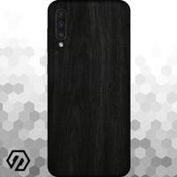 [EXACOAT] Galaxy A70 3M Skin / Garskin - Wood Ebony