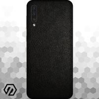 [EXACOAT] Galaxy A70 3M Skin / Garskin - Leather Black