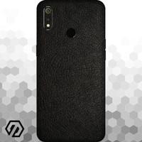 [EXACOAT] Realme 3 Pro 3M Skin / Garskin - Leather Black