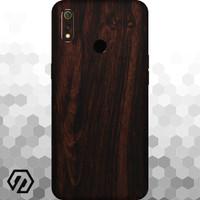 [EXACOAT] Realme 3 Pro 3M Skin / Garskin - Wood Mahogany