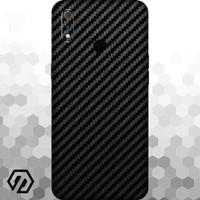 [EXACOAT] Realme 3 Pro 3M Skin / Garskin - Carbon Fiber Black