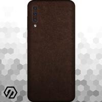 [EXACOAT] Galaxy A70 Skin / Garskin - Leather Brown