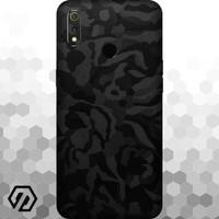 [EXACOAT] Realme 3 Pro Skins 3M Skin / Garskin - Black Camo