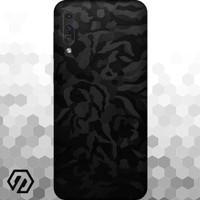 [EXACOAT] Galaxy A70 Skins 3M Skin / Garskin - Black Camo