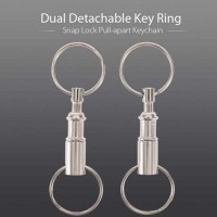 Gantungan Kunci EDC Key Ring Carabiner Snap Lock Pull Apart 1 PCS AG01