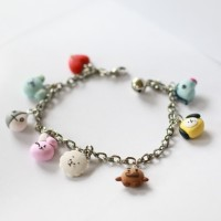 gelang BTS BT21 handmade clay korea import