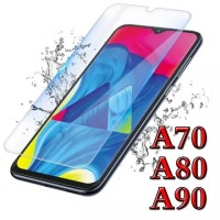 Samsung A70 / A80 / A90 Tempered Glass 2.5D Screen Guard Kaca