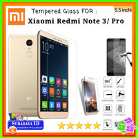 Tempered Glass Xiaomi Redmi Note 3/Pro (Full Cover - 5.5 inchi)