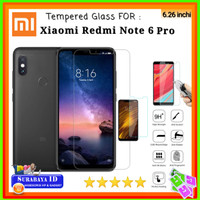 Tempered Glass Xiaomi Redmi Note 6 Pro (6.26 inchi)