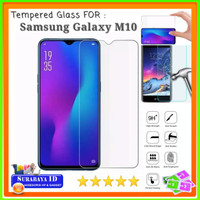 "Tempered Glass Samsung Galaxy M10 (Full Cover - 6.22"" inchi)"